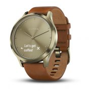 MONTRE CONNECTEE  VIVOMOVE tm HR GARMIN ( avec bracelet cuir) -